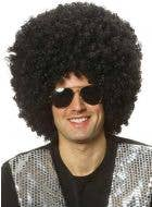 Men's Jumbo Black Afro Wig