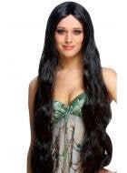 Atlantis Extra Long Women's Black Costume Wig