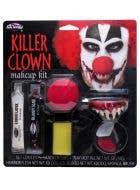 Killer Clown Halloween Makeup Kit