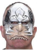 Cyborg Half Face Latex Halloween Costume Mask