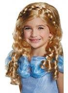 Cinderella Long Blonde Fairy Tale Girl's Costume Wig