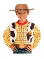 Toy Story 4 Officially Licensed Boy's Woody Costume Top