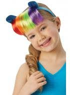 Rainbow Dash Girls My Little Pony Headband with Rainbow Fringe