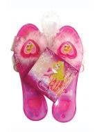 Girl's Disney Princess Sleeping Beauty pink fancy dress costume shoes