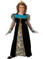 Girl's Renaissance Princess Costume Front View