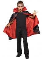 Bloodthirsty Vampire Reversible Kids Halloween Cape