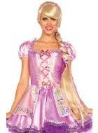 Long Rapunzel Deluxe Women's Costume Wig