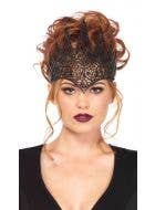 Black Filigree Costume Accessory Crown
