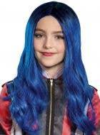 Descendants 3 - Deluxe Girls Evie Blue Costume Wig