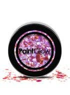 Chunky Loose Glitter Make Up in Heart Breaker Pink - Purple