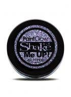 PaintGlow Holographic Violet Body Glitter Costume Makeup