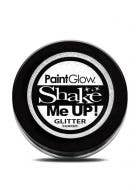 White Body Glitter Shaker by PaintGlow
