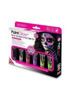 UV Day of the Dead Face Paint Makeup Kit