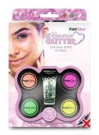 UV Reactive Loose Glitter Makeup Kit Image 1