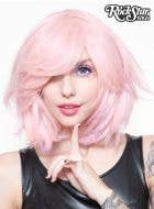 "Powder Pink 12"" Women's Deluxe Bob Fashion Wig"
