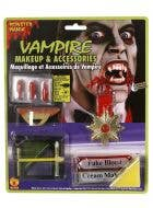Vampire Halloween Makeup & Accessory Kit