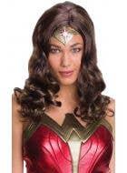 Wonder Woman Brown Wig Costume Accessory