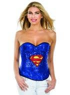 Womens Sexy Sequinned costume corset marvel