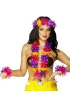 Hawaiian Lei Costume Accessory Set