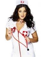 2530203e2181d Black Nurse Women's Costume | Heart Stoppin' RN Sexy Nurse Costume