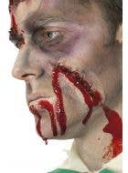 Self Stitched Up Scar Fake Horror Wound