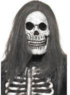 Skeleton Halloween Mask With Hair