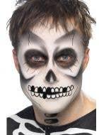 Skeleton Greasepaint Halloween Makeup Kit