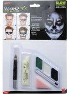 Glow In The Dark Skeleton Greasepaint Makeup Kit