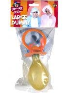 Large Adults Baby Dummy Costume Accessory