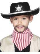 Wild West Sheriff Kids Costume Hat