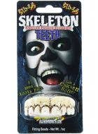 Billy Bob Skeleton Custom Fitting Halloween Costume Teeth With Putty