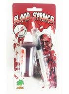 Fake Blood with Syringe Horror Costume Accessory