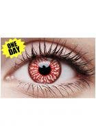 Blood Shot One Day Coloured Halloween Contact Lenses