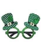 Leprechaun Hat Novelty Irish Glasses Costume Accessory