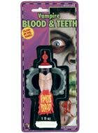 Halloween Coagulated Extra Thick Red Blood Special Effects Makeup Accessory Main Image