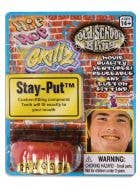 Adult's Gold Hip Hop Gangster Grillz Costume Teeth