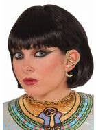 Gold Snake Earring Women's Cleopatra Costume Accessory