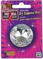 Bachelorette Novelty Giant Diamond Ring Accessory