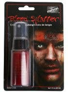 Mehron Bright Red Blood Spray Halloween Special Effects