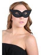Black Cat Eye Women's Masquerade Costume Mask Accessory
