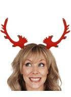 Christmas Reindeer Headband with Bells