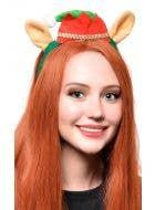 Elf Hat with Ears Novelty Christmas Headband