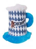 Oktoberfest Blue Beer Stein Costume Hat