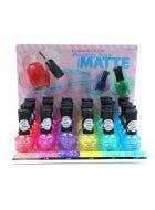 Kleancolor Glitter Matte Nail Polish - Colour Choice