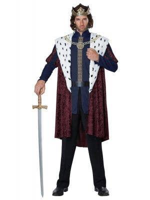 Men's Storybook King Royal Fancy Dress Costume