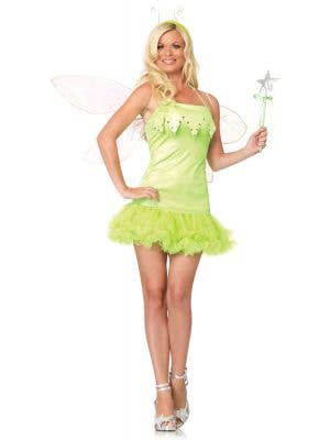 Womens Pixie Dust Sexy Fairy Costume - Main Image