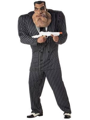 Massive Monster funny gangster suit with Inflatable shoulders and Mask Main image