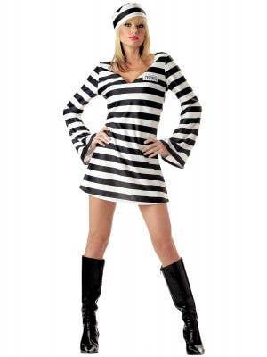 Convict Chick Sexy Women's Prisoner Costume