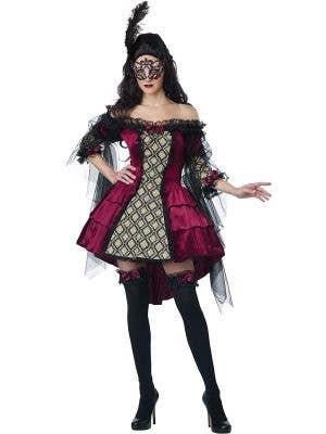 Mysterious Masquerade Sexy Women's Baroque Costume