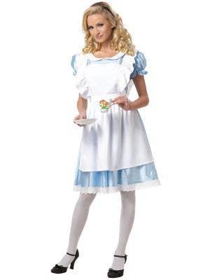 Classic Alice in Wonderland Women's Costume